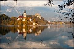 Kirche im See (BM-Licht) Tags: bled bledersee d700 nikon slowenia slowenien