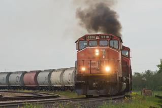 CN 5316 Fort Saskatchewan AB