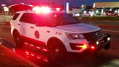 Battalion 151 (Central Ohio Emergency Response) Tags: whitehall ohio fire department division ford explorer suv battalion chief