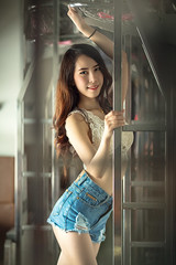 *** (Fevzi DINTAS) Tags: pose portrait modeling style fashion passion train capture photography actress artist lady girl sweet lovely beautiful pretty cute smile happy standing waiting single moment expressions feelings look lookingat indoor paza140 thai slim