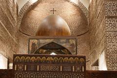 Church of Abu Serga (Chris Irie) Tags: abuserga cavernchurch church apse cairo egypt
