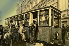 Old tram (kvl23) Tags: old tram oldtram stpetersburg russia hdr