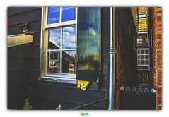 MARKEN (2) (régisa) Tags: marken house maison noordholland portillon gate hollande paysbas nederland netherlands wooden bous authentic