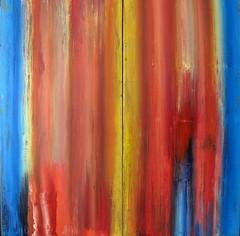 The secret (Peter Wachtmeister) Tags: artinformel mysticart modernart popart artbrut phantasticart ar minimalart acrylicpaint abstract abstrakt hanspeterwachtmeister