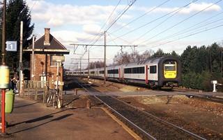 Hever, omgeleide trein