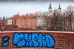 Ramparts of Warsaw (christian.grelard) Tags: warsaw poland varsovie pologne ville city town warszawa polska voyage travel staremiasto vieilleville rempart rampart tag street streetart