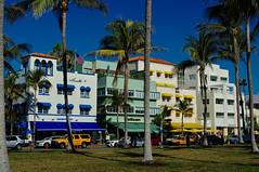 Art deco hotels, Ocean drive, Miami beach (Bokeh & Travel) Tags: artdeco art deco hotels architecture oceandrive ocean drive miami miamibeach beach palmtrees palms colorful beautiful famous florida fl usa vacation