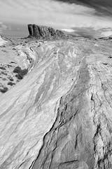 2018_03_14_7239-PS-bw (DA Edwards) Tags: nevada fire valley state park redrock rock color red hiking wave firewave da edwards photography winter 2018 monochrome landscape