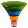 3d Layered Funnel Chart (aliceheiman) Tags: layered layer layers funnel chart four 3d transparency business finance financial blank category green orange blue tan corporate divisions segment segmented stages process diagram infographic chambers perspective cone arrow arrows shape tube three dimensional isolated white design element symbol illustration graphic clip art clipart vector