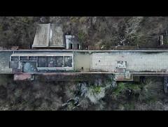 DJI_0058_2k (trevor.patt) Tags: gresleri parmeggiani daini architecture modernist brutalist concrete ruin religious casalecchio bologna it aerial drone dji mavic nadir