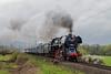 498 104 (michalvboh) Tags: train trains transport traveling travel rail railway railroad railways rails slovakia slovensko steamtrain steamlocomotive rainy