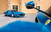 Azzurro Dino. (Alex Penfold) Tags: blue azzurro dino ferrari 288 gto supercars supercar super car cars autos alex penfold 2018 dubai uae