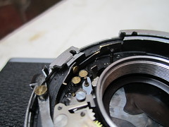 canonet ql19 old type (zaphad1) Tags: canonet ql 19 repair timer shutter creative commons free photo