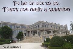 To Be or Not To Be (Tony Shertila) Tags: geo:lat=3875046874 geo:lon=925938249 geotagged lisboa pegolongo portugal prt queluz