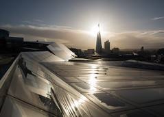 One New Change (Spannarama) Tags: morning morninglight sunshine flare contrejour clouds winter shard rooftop onenewchange london uk steam
