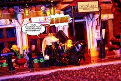 A Lesson in Law (BrickSev) Tags: lego starwars parody star wars jarjar binks kylo ren starwarsparody minifigure minifigures comic comics jarjarvskylo legoparody parisianrestaurant legophotography toy photography toys toyphotography fun funny tabletop legocomics macro
