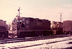 Reading 3411 (CPShips) Tags: reading emd gp392 philadelphia 1976