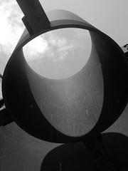 IMG_8331 Seuil by Anthony Caro (marklarmuseau) Tags: bw seuil threshold choeurdelumière chapeloflight anthonycaro bourbourg hautsdefrance ciacbourbourg nordpasdecalais cortensteel
