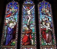 Brent Eleigh, Suffolk - St Mary's Church (Glass Angel) Tags: brenteleigh stmaryschurch suffolk stainedglasswindow