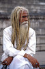 DREADS BLONDES (Jean d'Hugues) Tags: dreads locks gange inde indien bijoux fier blanc barbe