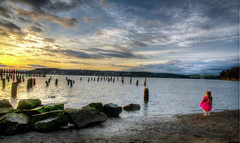 titlow beach (wileygerald) Tags: titlow tacoma sunset