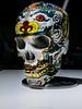 Thai ceramic art skull sculpture (terkhomson) Tags: thai thailand art ceramic craft sculpture skull
