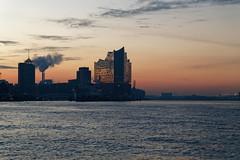 Hafencity und Elbphilharmonie (hu.roescheisen) Tags: hamburg hafen elbe elbphilharmonie landungsbrücken