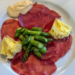 Dry-cured ham and green asparagus thumbnail