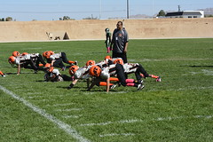 _DSC3701 (zombieduck2010) Tags: 2014 apple valley rattlers jr pee wee youth football san bernardino cowboys