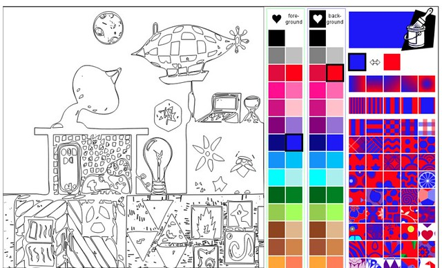 Color the NetNarr Lab