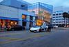 Adore Aventador Door (Infinity & Beyond Photography) Tags: lamborghini aventador exotic car photo bluehour lights miamibeach miami architecture exotics supercars cars