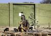Roadside Sadhu Vrindavan (Eric Cooper 1) Tags: india vrindavan sadhu hindu