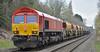 top n tail 2 (Trev 'Big T' Hurley) Tags: 66011 66018 66 db dbcargo waterorton engineers civilengineers infrastructure wagons topandtail