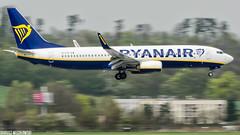 Ryanair BOEING 737-8AS (EI-FZI) (Dariusz W.) Tags: airplane aircraft airlines airliner airways airport balice epkk dariusz d7000 wesołowski jet jetliner jetplane nikon ryanair boeing