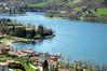 Above to Lake (ironmember) Tags: lago lagodidro lagodiridio iridio aereavisione manolibera 100mm tamron tamron16300 nikond90 d90 paesaggio landscape acqua case piante azzurro lagoazzurro paesaggiodafiaba luogomagico visionenitida elevataprofonditàdicampo profonditàdicampo pdc iperfocale baia
