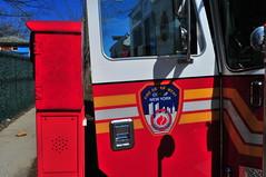 FDNY Engine 163 (Triborough) Tags: ny nyc newyork newyorkcity richmondcounty statenisland castletoncorners fdny newyorkcityfiredepartment firetruck fireengine engine engine163 kme garbage badquality dangerous shoddy