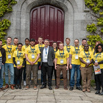 charlesSpillane_with_MSc_students_CCAFS_NUIG_2017_donalkelly by Ryan Institute