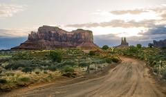A Private Drive (Monument Valley, Utah) (Melnikovi) Tags: monumentvalley road sunrise utah