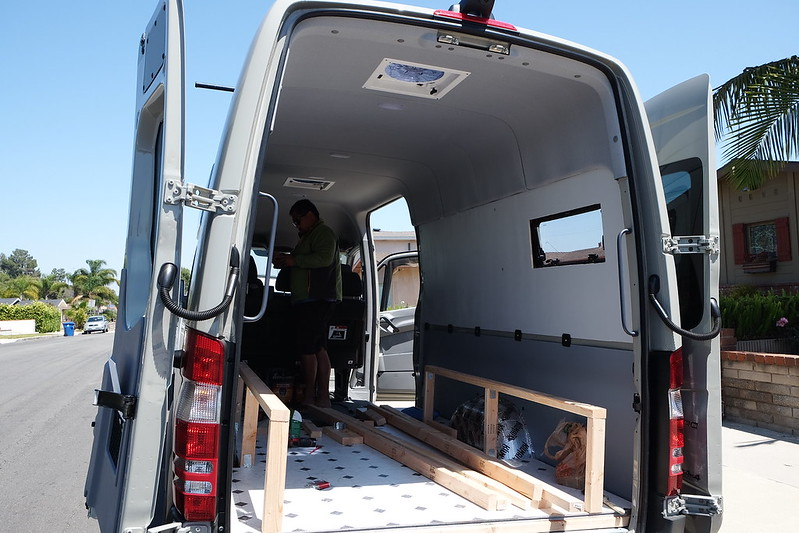 Sprinter van build day 18 042618