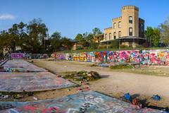 Art Moat (-Dons) Tags: austin hopeoutdoorgallery texas unitedstates streetart graffiti castle hopegallery castlehill house spraypaint wall paint