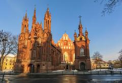 La chiesa di Napoleone (forastico) Tags: forastico d7100 vilnius lituania sanna chiesadisanna napoleone gotico