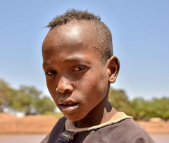 Dassanech Boy (Rod Waddington) Tags: africa african afrique afrika äthiopien ethiopia ethiopian ethnic etiopia ethnicity ethiopie etiopian omovalley omo outdoor omoriver outdoors portrait people dassanech tribe traditional tribal boy child cultural culture water river