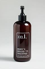 Rudy's Brand shampoo