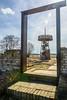 gallery (stevefge) Tags: beuningen gelderland weurt toren uitkijktoren tower framed trees bomen wall brick path tegenlicht contralux nederland netherlands nl nederlandvandaag reflectyourworld riverside
