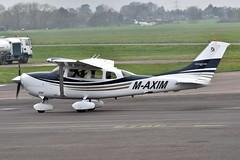 Cessna 206 M-AXIM (egbjdh) Tags: andrewashbee april2018 egbj staverton gloucester