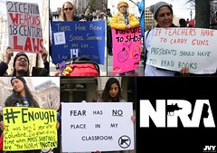 And more signs at the March For Our Lives Rally (kimmy aoyama) Tags: marchforourlives enough washingtondc pennsylvaniaave guncontrol rally protest march242018 poster sign protect kids gun nra jvycreations miamidadecounty civicsteacher civics teacher weapon law school shooting columbine fear classroom jakevanyahres