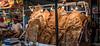 2018 - Mexico City - Coyoacan Food Market (Ted's photos - Returns Early June) Tags: 2018 cdmx coyoacan cropped mexico mexicocity nikon nikond750 nikonfx tedmcgrath tedsphotos tedsphotosmexico vignetting crackling porkcrackling market scale ballcap apron food signs lightbulbs bulbs lights
