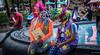 2018 - Mexico City - Coyoacan's Jardin Centenario (Ted's photos - Returns Early June) Tags: 2018 cdmx coyoacan cropped mexico mexicocity nikon nikond750 nikonfx tedmcgrath tedsphotos tedsphotosmexico vignetting jardíncentenario jardin jardincentenariocoyoacan park reflection colorful colourful facepaint people parkscene inapark bowtie