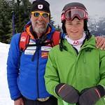 Dusan Grasic and Tait Jordan of Team Canada