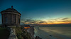 Mussenden Temple and Downhill Demesne (jac.photography49) Tags: sea sunset clouds cliff afterdark downhill 6d exposure headland reflections foyle nightsky ireland images sky rocks loughfoyle lough northernireland night nationaltrust stars samyang water view ngc